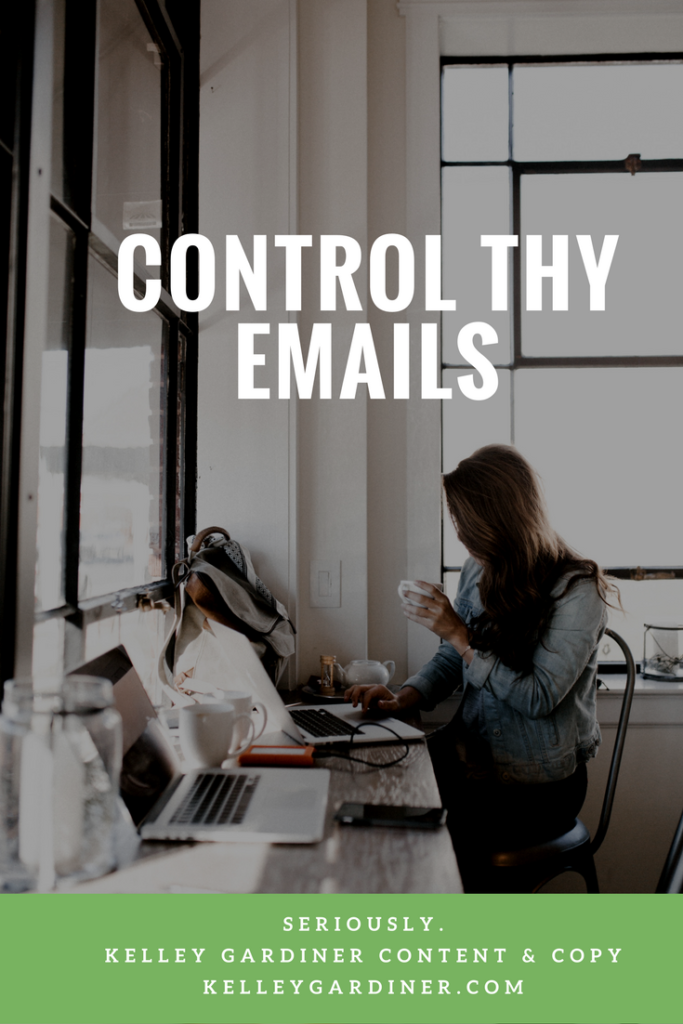 Control thy emails
