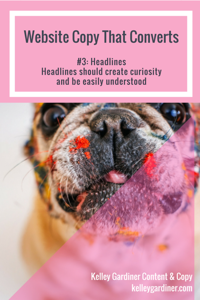 Website Copy That Converts Checklist: Headlines